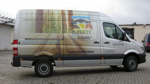 Car Wrapping - Parkett Träume