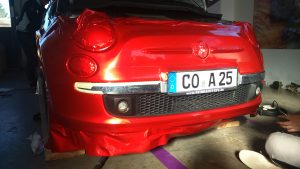 Carwrapping - Fiat
