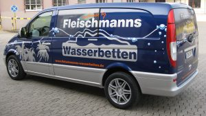 Carwrapping - Fleischmann Wasserbetten