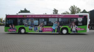 Carwrapping - Bus für SÜC Coburg