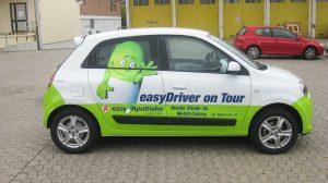 Auto Werbebeschriftung - Easy Apotheke