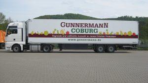 Auto Werbebeschriftung - Gunnermann Coburg