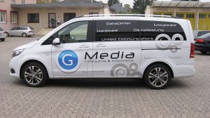 Auto Werbebeschriftung - Media IT Consulting