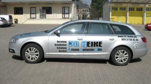 Auto Werbebeschriftung - PC Heike