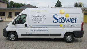 Auto Werbebeschriftung - Stöwer Coburg
