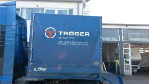 Auto Werbebeschriftung - Tröger Gruppe