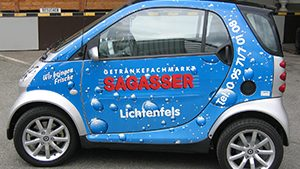 Carwrapping - Sagasser Smart